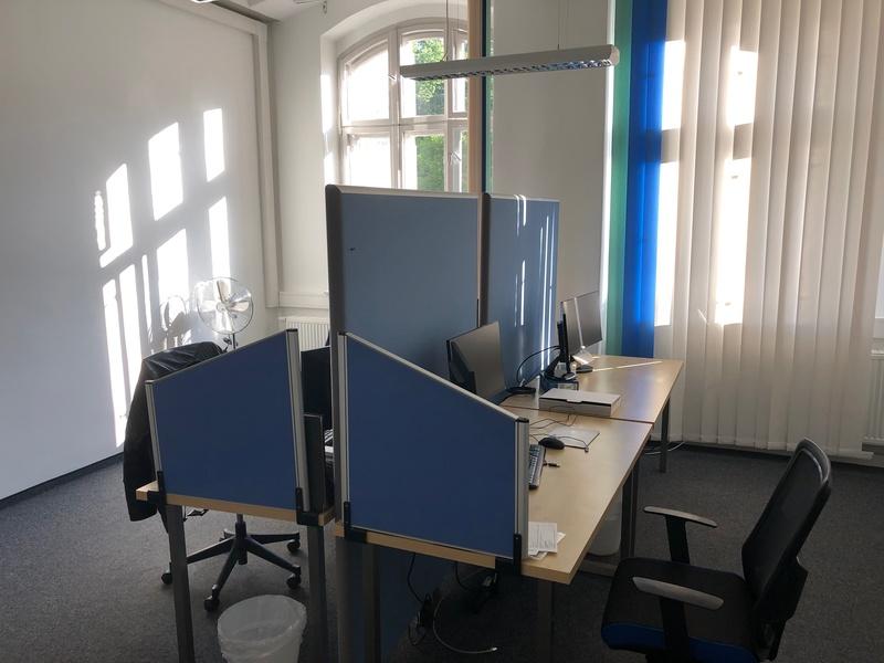 Büro in den Schuckelt-Höfen