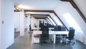Beautiful Office on Top Floor Building