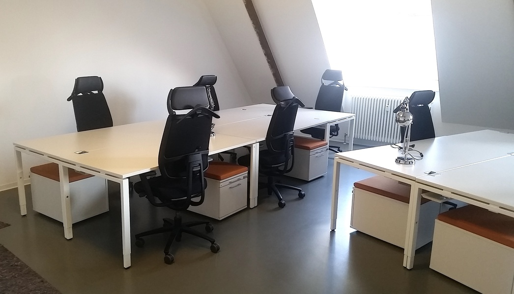Bright Room in shared Office for 10 people