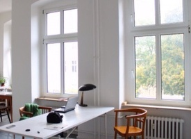 Atelier/ desk/ creative studio in Berlin 1.3-1.6.16