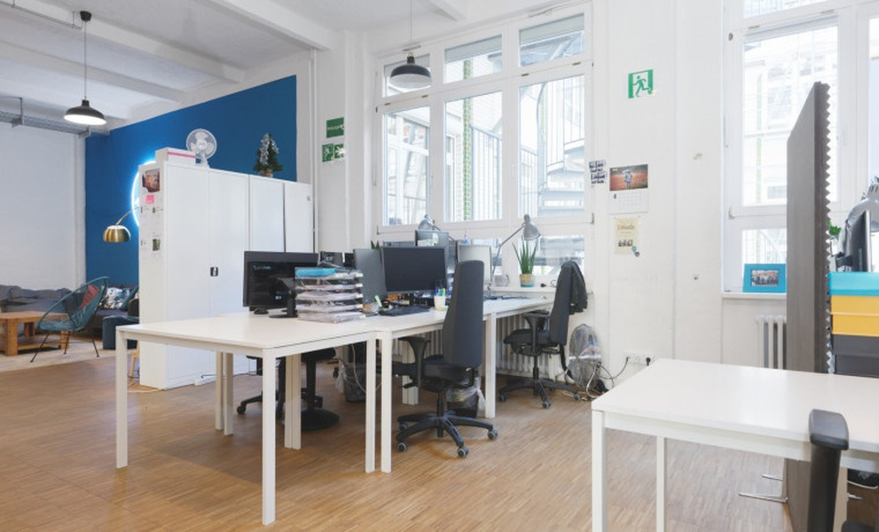 Team office loft style for 6-12 people in Kreuzberg / Neukölln (All-incl.)