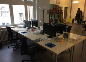 fully furnished work places in Kreuzberg