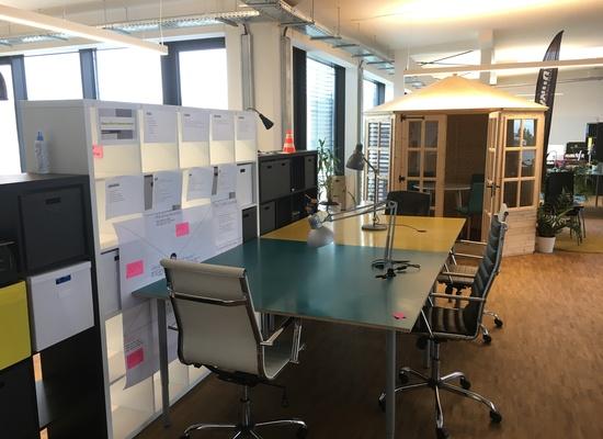 Arbeitsplätze in heller Bürofläche im Herzen Berlins zu vermieten