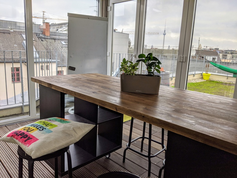 Private Office Space and Shared Areas