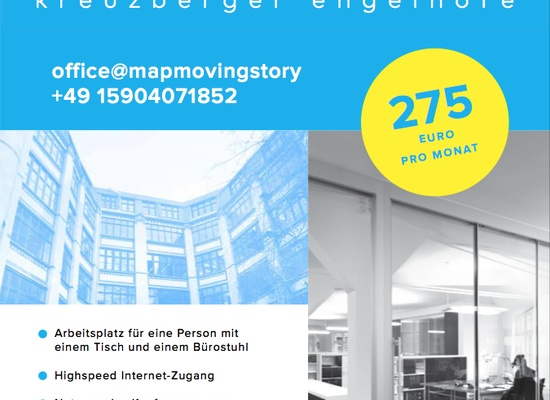 Coworking Space/ Büroarbeitsplatz