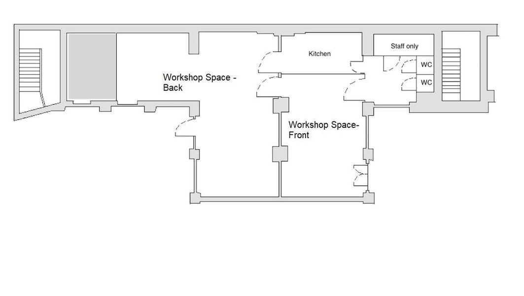 180 sqm Space with 2 Rooms in Startup Office Kreuzberg Berlin