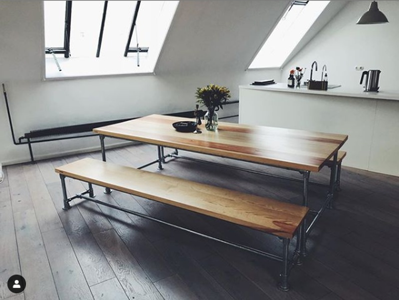 Desk Space in Bright Kreuzberg Loft for Rent