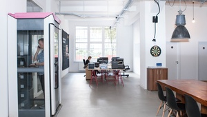 2-8 desks in an industrial, loft-style co-working space in Kreuzberg