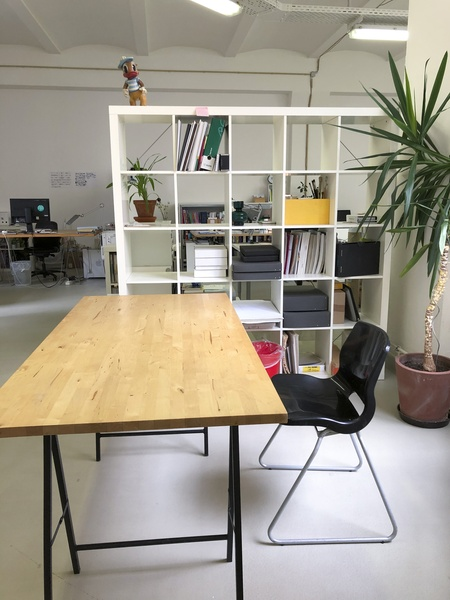 Spacious workplace in our shared creative office!
