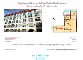 Open-Space-Fläche am Bahnhof Berlin-Charlottenburg