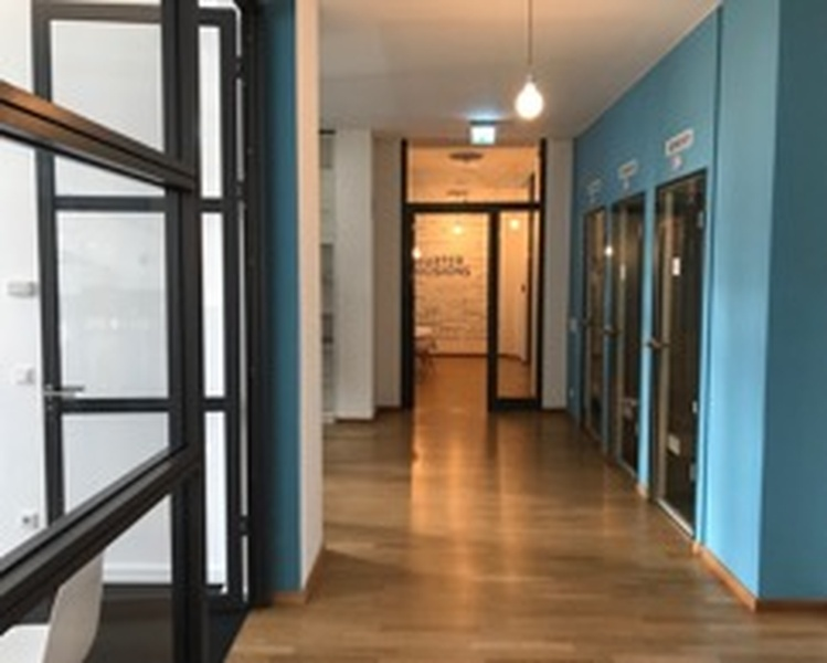 Fitted shared office, in close proximity to Potsdamer Platz