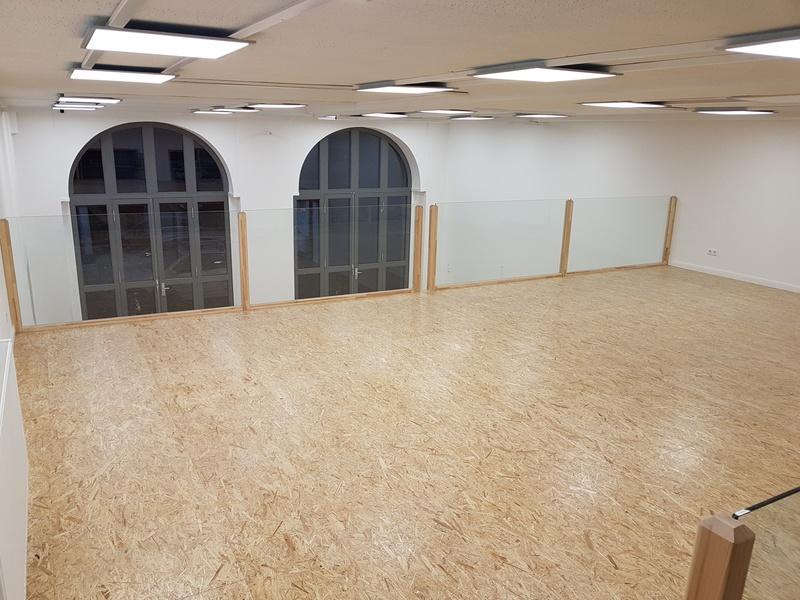 Refurbished room in old Firestation in Berlin Wedding