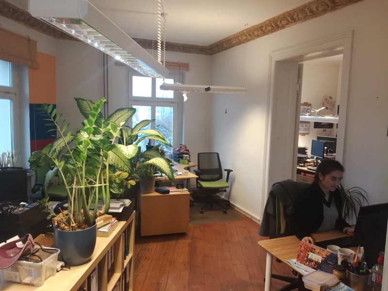 Charming office for 25 people in Kreuzkölln