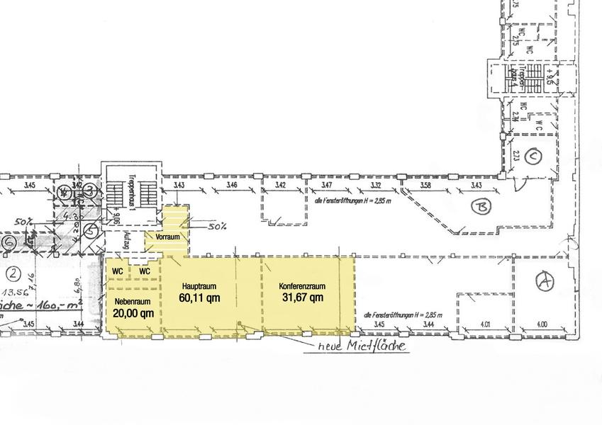 3 rooms close to Tempelhofer Feld