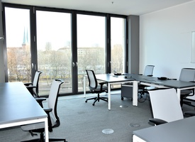 1 big office for up to 8 people at TechCode Berlin from April 2020