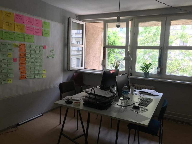 available co-working desk in Kreuzberg