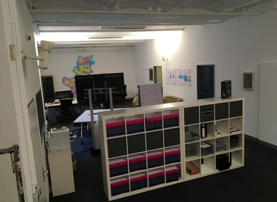 Office Space 150qm, Friedrichshain, open-ended