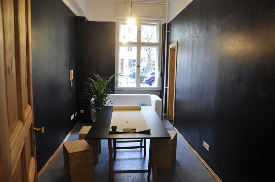 baensch38 - Free desks available - Freie Tische im Wohnzimmer der coworking spaces