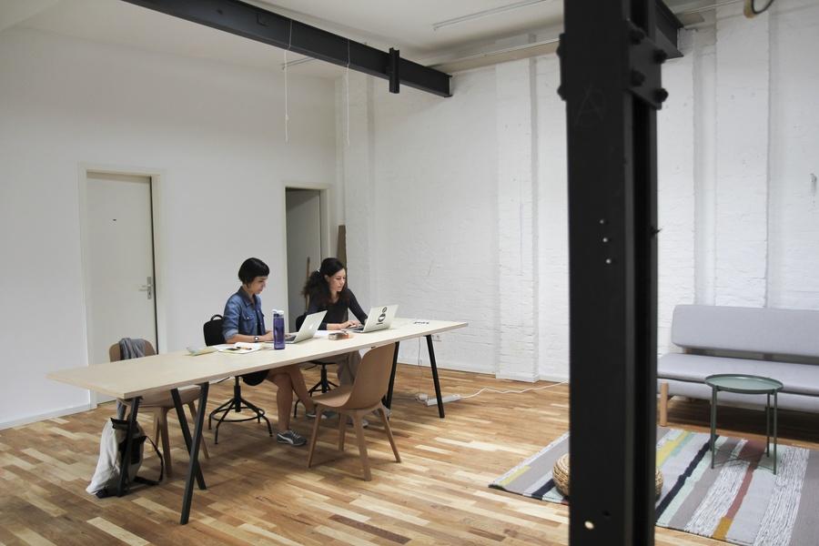 Creative, newly renovated coworking at the Paul-Linke-Ufer in Kreuzberg