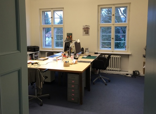 Schreibtisch in netter Bürogemeinschaft in Zehlendorf zu vermieten