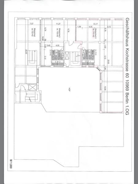 310qm2 Loft in Industrial Building