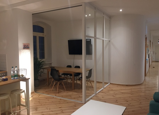 140m² fully equipped office in the heart of Kreuzberg close to Görtlitzer Bahnhof
