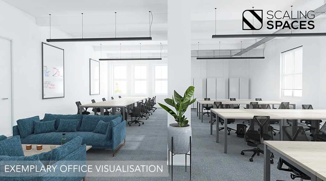 **Full-Serviced-Office** incl. meeting-rooms, kitchen and shared areas