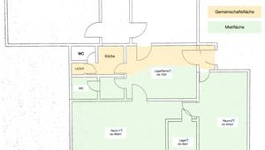 Büro WG. Eigene Räume. Ideal für Startups!