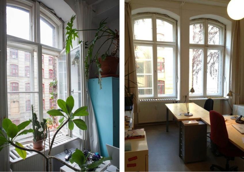 Büroraum für Kreative im Wrangelkiez