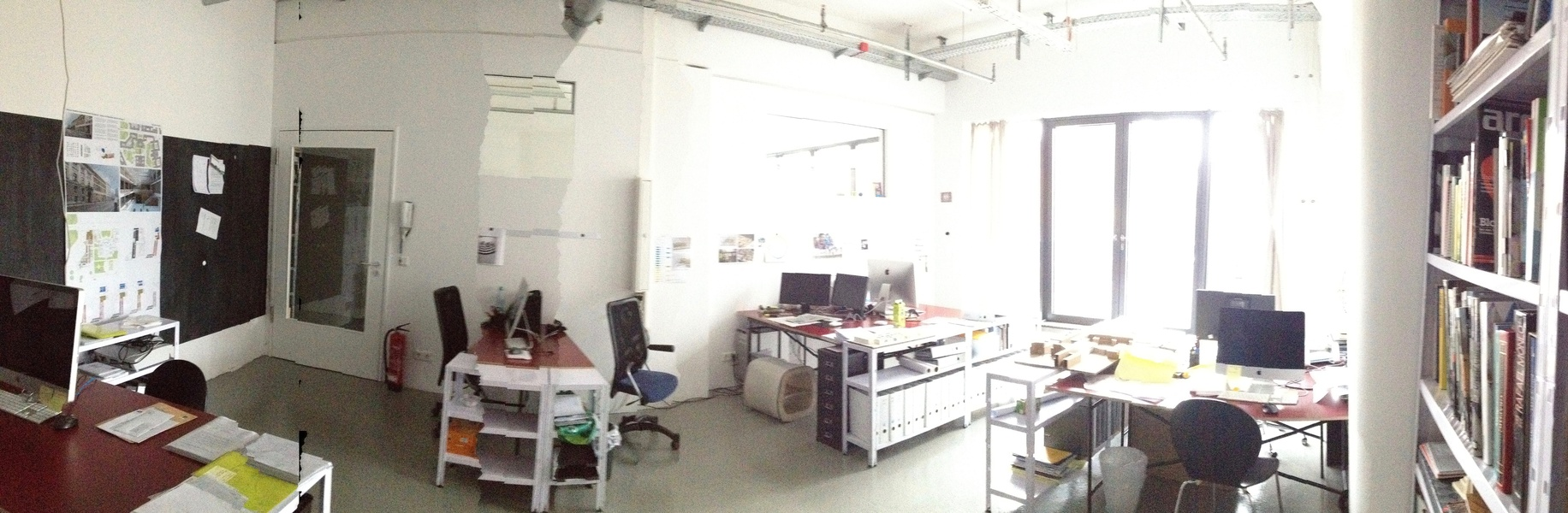 beautiful co-working space @ planet modulor/moritzplatz-kreuzberg available