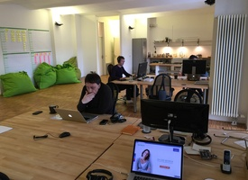 Spacious and beautiful loft office at Paul-Lincke-Ufer for 1 month