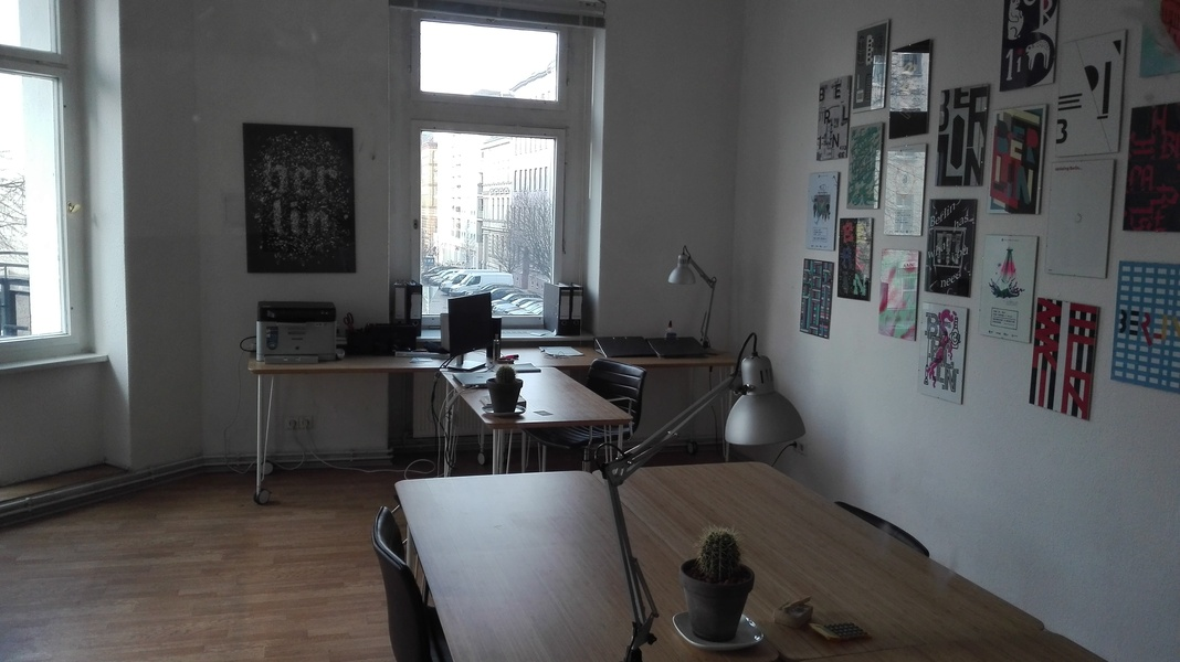 3 different rooms in Mitte > 19sqm or 15sqm or 8sqm