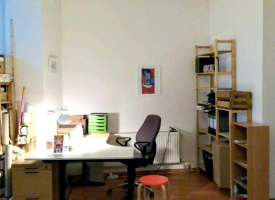 Büroplatz Maybachufer Berlin Office Desk Space Workplace Büro Atelierplatz