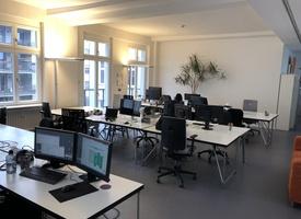Büroraum für ca. 18 Arbeitsplätze mit angeschlossenem Konferenzraum