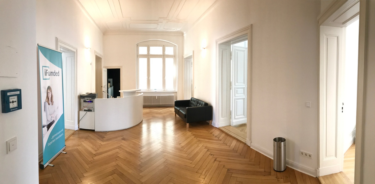 Whole 205 sqm office wing in unique & beautiful building – directly at Ku'damm