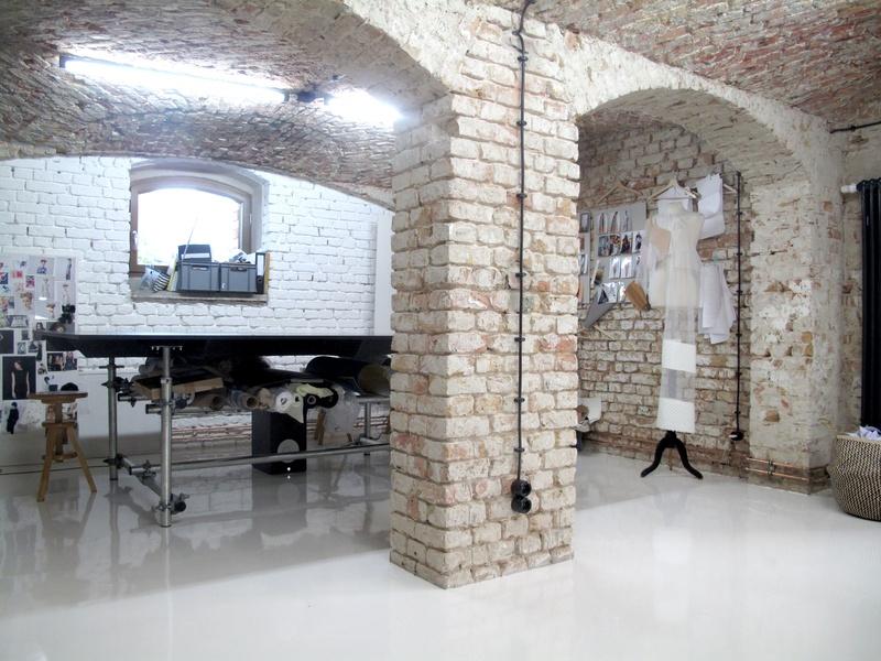 Workspace in Fashionstudio/ Rummelsburger Bucht