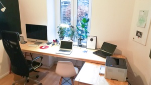 Quiet home office space in Mitte, near Torstrasse / Friedrichstrasse