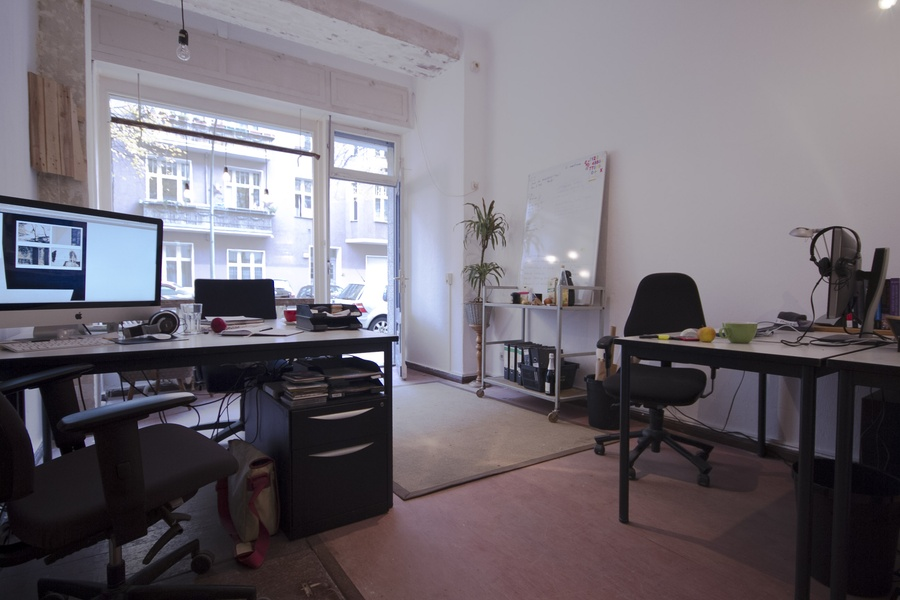 coworking and project/studio rooms