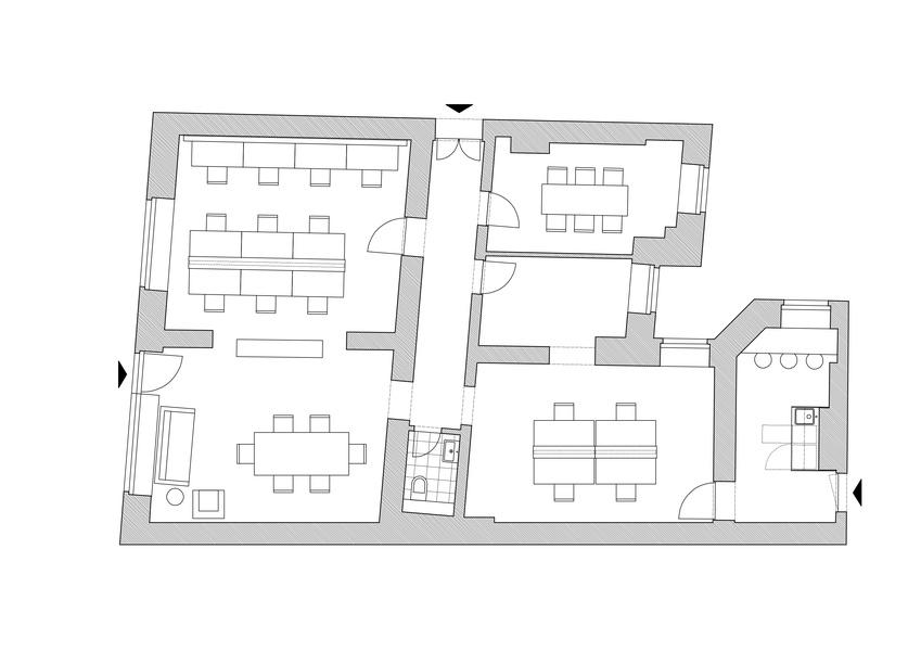 Linienstrasse - plug&play Büro für 14-20 Mitarbeiter
