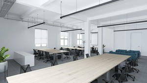 OFFICE: *Move in, sit down, get started!* - your new office with serviced-office-concept