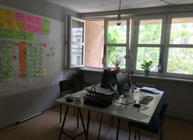 available co-working desk in Kreuzberg