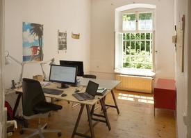 Arbeitsplatz in Bürogemeinschaft - Bötzowkiez
