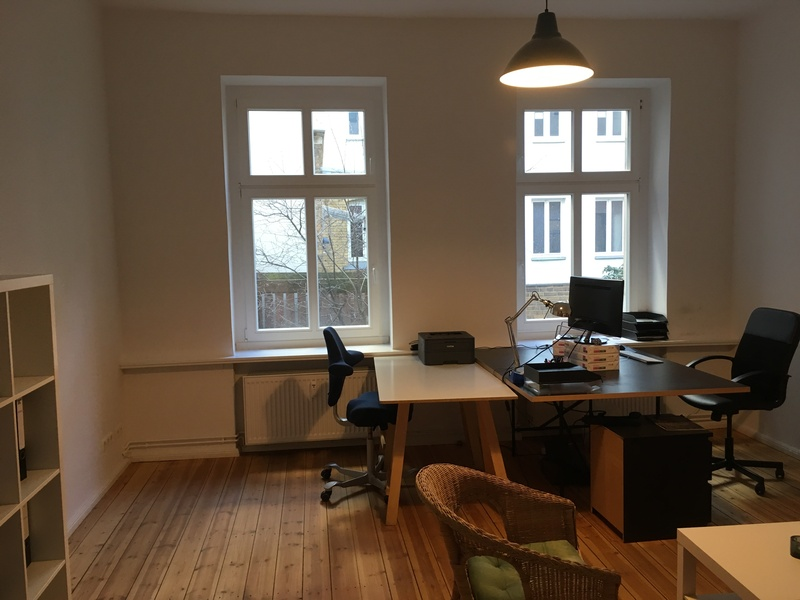 Nice and calm office in Berlin-Schöneberg, near to Potsdamer Platz