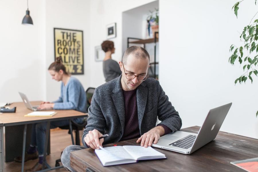 Schönes Gemeinschaftsbüro für Langzeitmieter