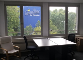 abgeschlossener Raum 25 qm in Bürogemeinschaft