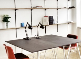 Desks at ATELIER (Neukölln)