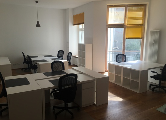 Shared Office at Friedrichstr. corner of Oranienburger