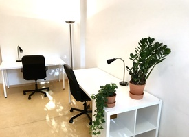 Beautiful Furnished Team Room for 2-3 people, w Coffee Kitchen