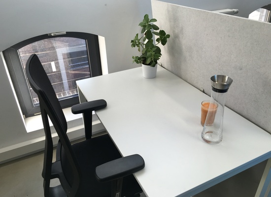 Workspaces at Orderbird's Office in Kreuzberg