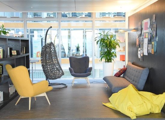 different size offices for up to 8 people or flexible desks at TechCode Berlin available from NOW